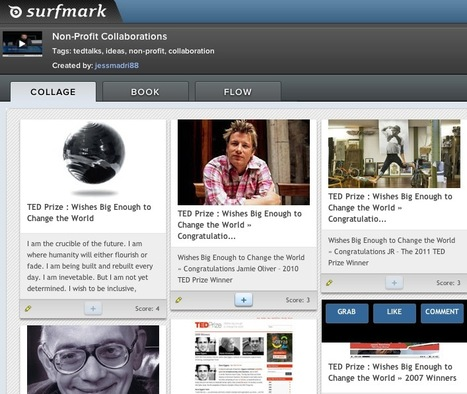 Capture, Annotate and Organize Content Into Collages, Books or Flows with Surfmark | Cool Startups 2012 | Scoop.it