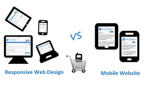 Responsive Web Design or Mobile Website: Best Practice for Mcommerce | SEO Services | Scoop.it