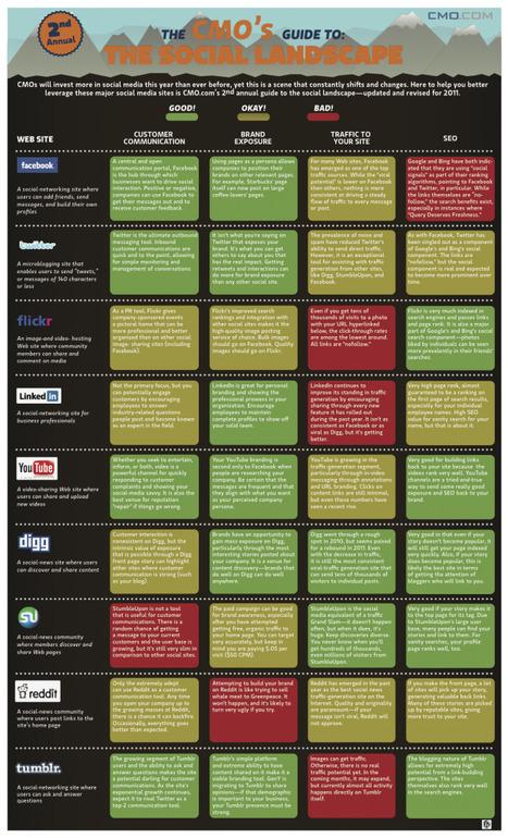 [Infographie] - Quel réseau social pour quelle action?   WebActus   Toulouse networks   Scoop.it