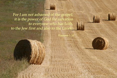 Romans 1.16 Poster - For I am not ashamed of the gospel; it is the power of God for salvation... | Resources for Catholic Faith Education | Scoop.it