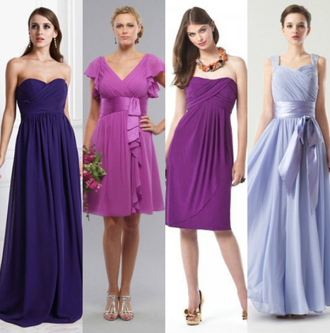 How to choose bridesmaid dress color 2015? - weddingfashion | dressesfashion | Scoop.it