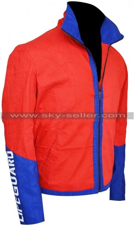 Dwayne Johnson Baywatch Lifeguard Jacket   Sky-Seller : Men Leather Jackets   Scoop.it