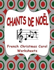 Fiches pour les Chants de Noël (Worksheets on Names of French Christmas Carols) | French Resources to Download and Print | Scoop.it