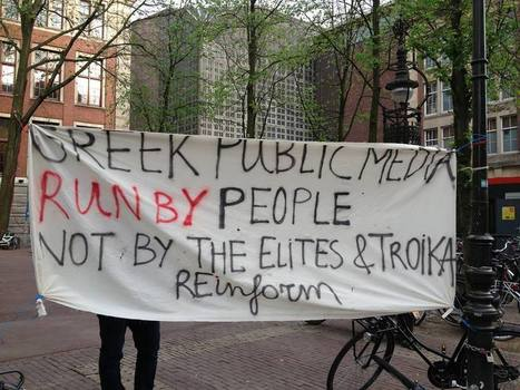 Occupy ERT in Amsterdam. – www.reinform.nl | Another World Now! | Scoop.it