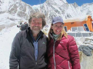Twitter / heathergeluk: #EPICDAY today at Everest Base ... | Mount Everest Expedition | Scoop.it