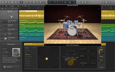 Logic Pro X Updated with Support for GarageBand 10 Project Files ... | Recording Software | Scoop.it