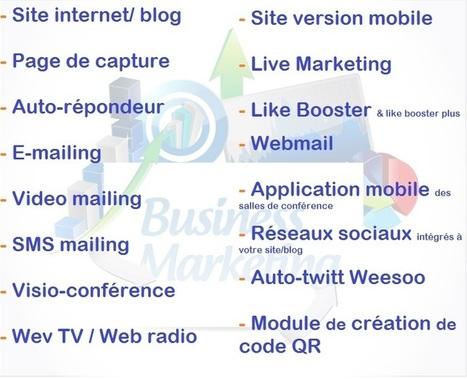 Tous les outils pour Booster vos business sur internet | Arielle Mathelin | Scoop.it