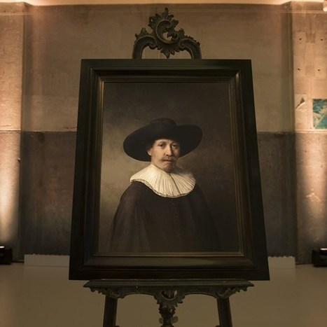 This fake Rembrandt was created by an algorithm | Cognitive Science - Artificial Intelligence | Scoop.it