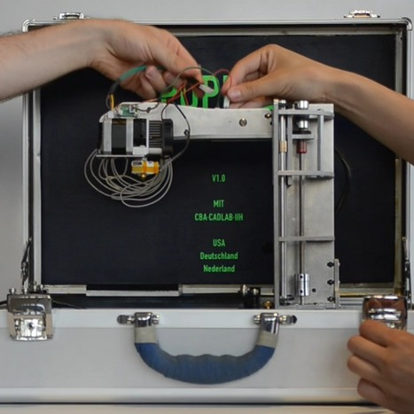 The portable 3D printer that fits in a briefcase (Wired UK) | FabLabs & Open Design | Scoop.it