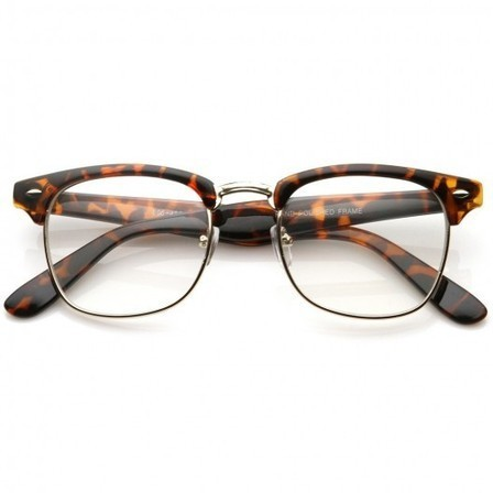 Lunettes sans correction style Clubmaster Leopard | Because Vintage is Fashion ! | Scoop.it