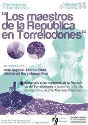 Un homenaje al último alcalde republicano de Torrelodones, un maestro, el 14 de febrero 2014   Educadores innovadores y aulas con memoria   Scoop.it