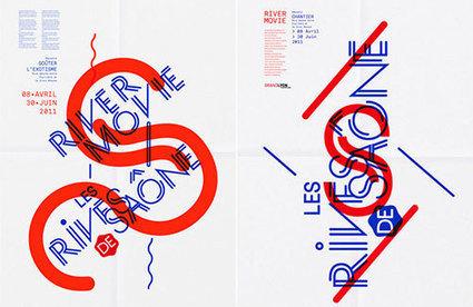It's Nice That : Graphic Design: Excellent typography by Paris-based studio Les Graphiquants | Architecture & Food | Scoop.it
