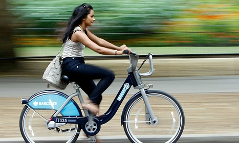Boris bikes benefit older cyclists more | Spatial Analysis | Scoop.it