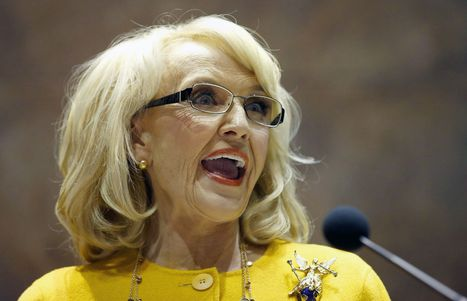 Prominent Republicans call for Ariz. Gov. Jan Brewer to veto bill allowing denial of service to gays | Global Politics | Scoop.it