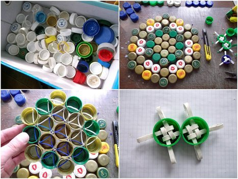 The Bottlecap Experiment #1   1001 Recycling Ideas !   Scoop.it