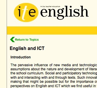 English and ICT | Teaching & Learning in the Digital Age | Scoop.it
