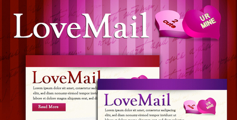 10 beautiful valentines day email templates - DesignMain.com | Designmain.com - Design, Inspiration & Freebies | Scoop.it