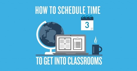 How To Schedule Time To Get Into Classrooms | Cool School Ideas | Scoop.it