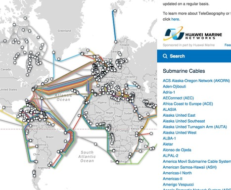 Submarine Cable Map shows how interconnected the world is | Digital Transformation of Businesses | Scoop.it