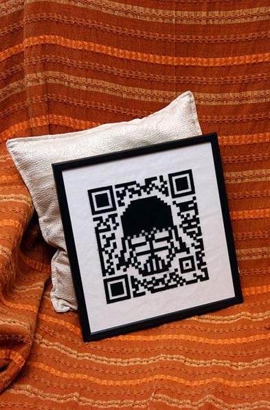 Fabrique de QRcodes textiles   QRdressCode   Scoop.it