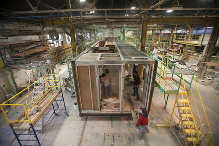Modular construction is gaining popularity across New York City   News   Archinect   T4C Architecture   Scoop.it