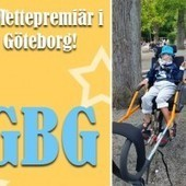 Glädjeknuff - The Joëlette in Sweden ! | Press Review about the Joëlette | Scoop.it