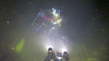 Le record du monde de plongée souterraine battu à Salses-le-Château par -262 mètres - France 3 Languedoc-Roussillon | Ocean's news | Scoop.it