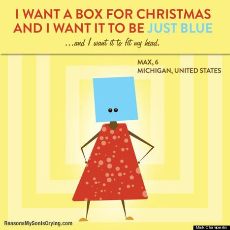 11 Bizarre Christmas List Requests From Kids Around The World | OddBasement.com | Scoop.it