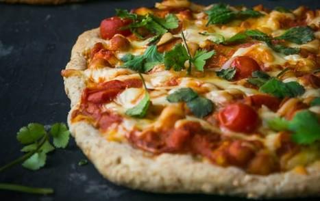 Indian Tikka Masala Pizzas [Vegan] | My Vegan recipes | Scoop.it