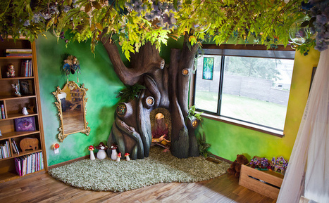 Loving Dad Builds Incredible Fairy Tree Reading Nook in His Daughter's Bedroom | Le It e Amo ✪ | Scoop.it