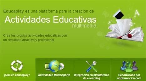 EducaPlay, una plataforma educativa para elaborar actividades escolares | Revista digital de Norman Trujillo | Scoop.it
