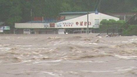 Thousands flee Japanese floods | Year 4 Science - Floods | Scoop.it