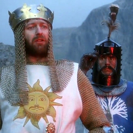 That 'Monty Python and the Holy Grail' modern trailer is dynamite | License to Read | Scoop.it