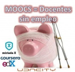 Los MOOCS (cursos masivos gratuitos) van a acabar con miles de empleos de docentes | Reviews Educación | Scoop.it