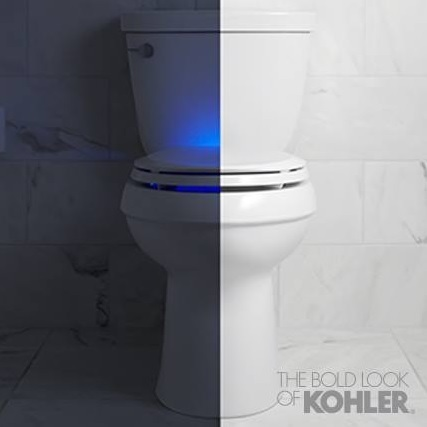 Lighted toilet seats by Kohler | All About Bathroom Remodel | Scoop.it