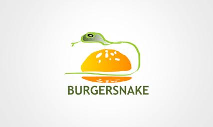 Burger Snake Logo Design Idea | Designs By Frinley Paul, UI Design Engineer. | Web Design Tools | Scoop.it
