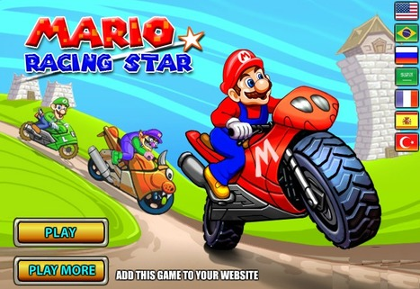Mario Racing Star | Mario Games | Sonic Games | Scoop.it