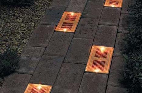 Sun Bricks: arriva il mattone fotovoltaico a LED per illuminare i vostri giardini   Illuminazione led   Scoop.it