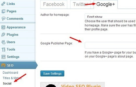 How-To Setup Google Authorship With WordPress SEO | Time to Learn | Scoop.it