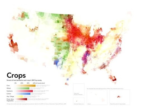 Map - Where the US grows its crops | AP HUMAN GEOGRAPHY DIGITAL  STUDY: MIKE BUSARELLO | Scoop.it