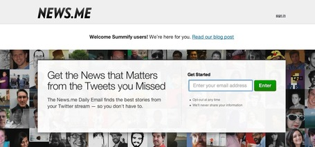 News.me - Daily Email with Best Stories from your Twitter stream | Social Media (network, technology, blog, community, virtual reality, etc...) | Scoop.it