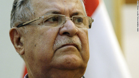 Iraq's president in stable condition, office says | Socialize ME | Scoop.it