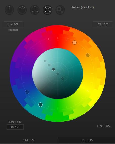 Paletton - The Color Scheme Designer | Herramientas para objetos de aprendizaje | Scoop.it