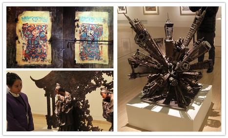 L'exposition du Nouvel An au Musée des beaux-arts de Chine | French China | Kiosque du monde : Asie | Scoop.it