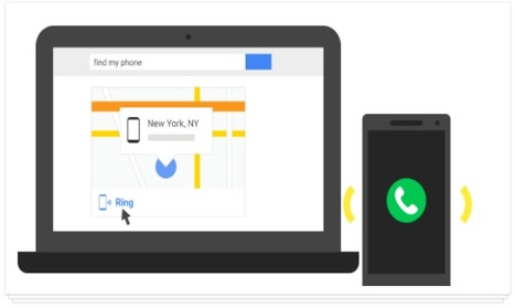 Retrouver son smartphone Android avec une simple recherche Google, c'est possible | Time to Learn | Scoop.it
