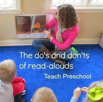 The do's and don'ts of reading aloud to young children | Teach Preschool | Scoop.it