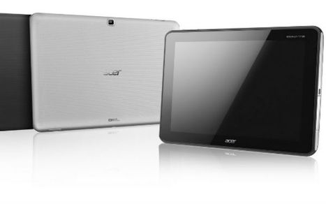 Acer Launches Sleek Iconia Tablet With Beautiful HD Display | txwikinger-news | Scoop.it