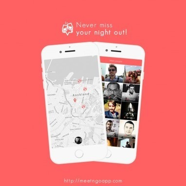Meet'n Go! : l'application rencontre des voyageurs | while42 | Scoop.it