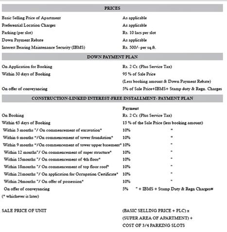 DLF Kings Court Price List GK 2 New Delhi | Real Estate | Scoop.it
