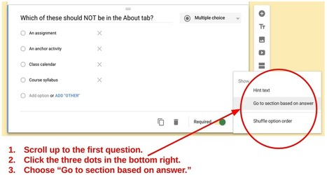 The Impossible to Fail Quiz in the New Google Forms | NOLA Ed Tech | Scoop.it